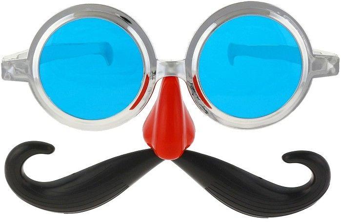 Brýle jumbo  s knírem