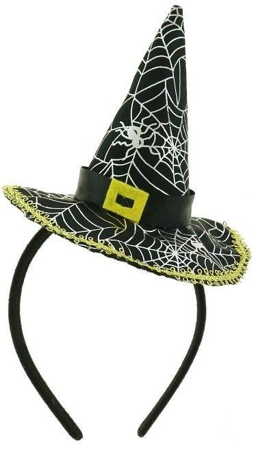 Čarodějnický klobouček na čelence