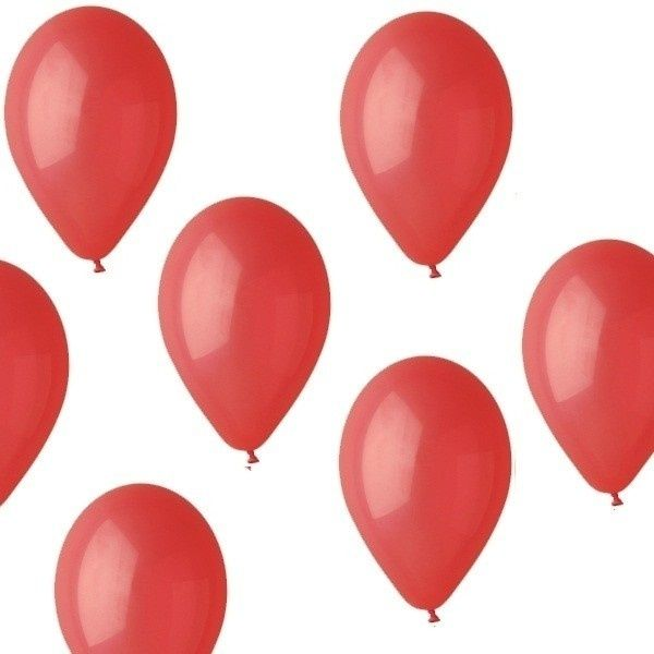 Nafukovací balónky červené 1ks