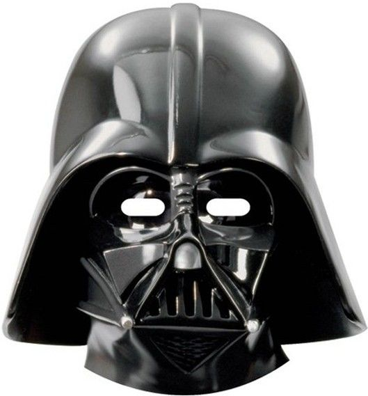 Papírové masky Darth Vader 6ks