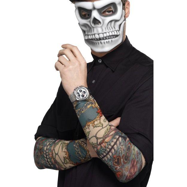 Rukávy s tetování - den smrti