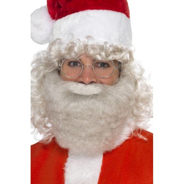 Vousy Santa, Mikuláš deluxe perlově šedé