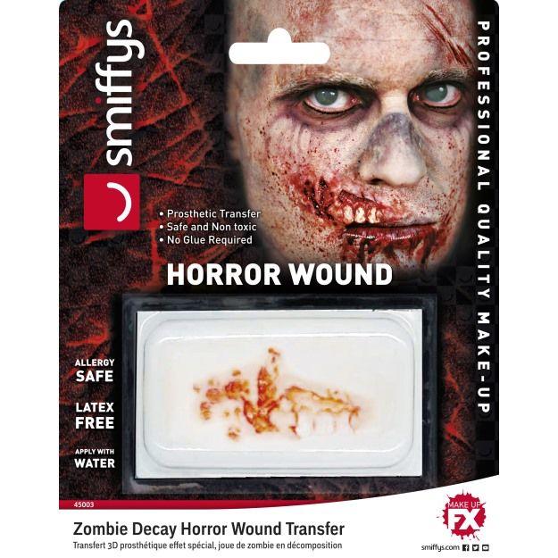 Zranění zombie rozpadání