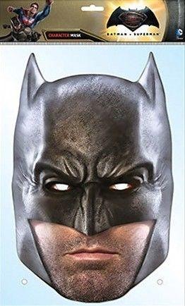 Papírová maska Batman vs Superman