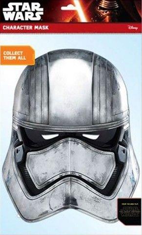 Papírová maska na tvář Star Wars -  Captain Phasma
