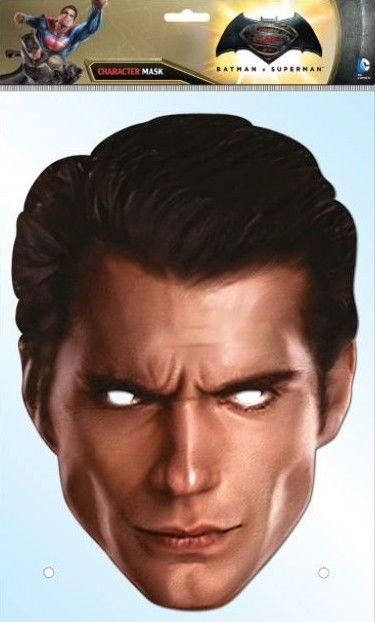 Papírová maska Superman Dawn of Justice