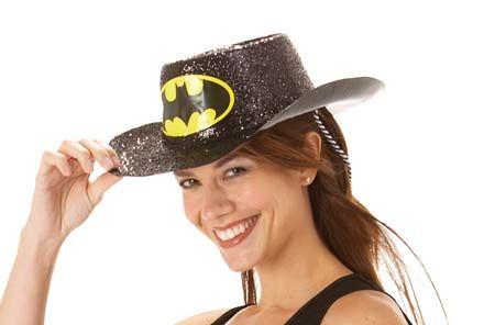 Dámský klobouk Batgirl