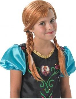 Dívčí paruka Anna Ledové království (frozen)