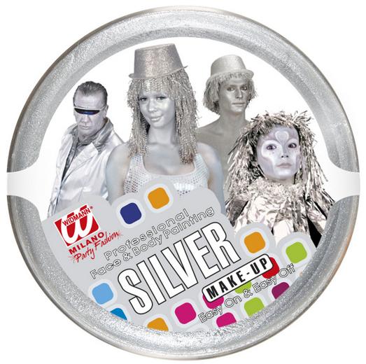 Make up stříbrný 25g