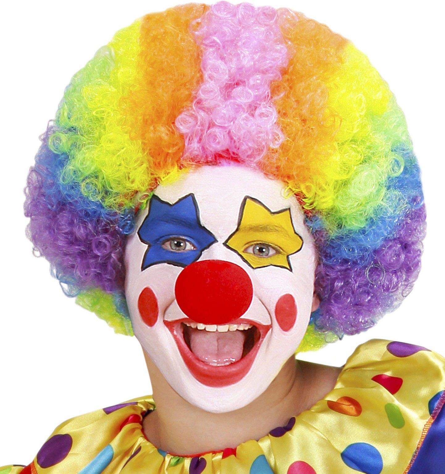 картинки грима клоуна согласен