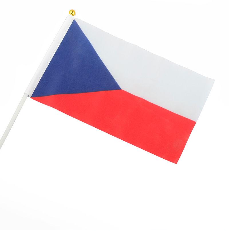 Česká vlajka 20x14cm