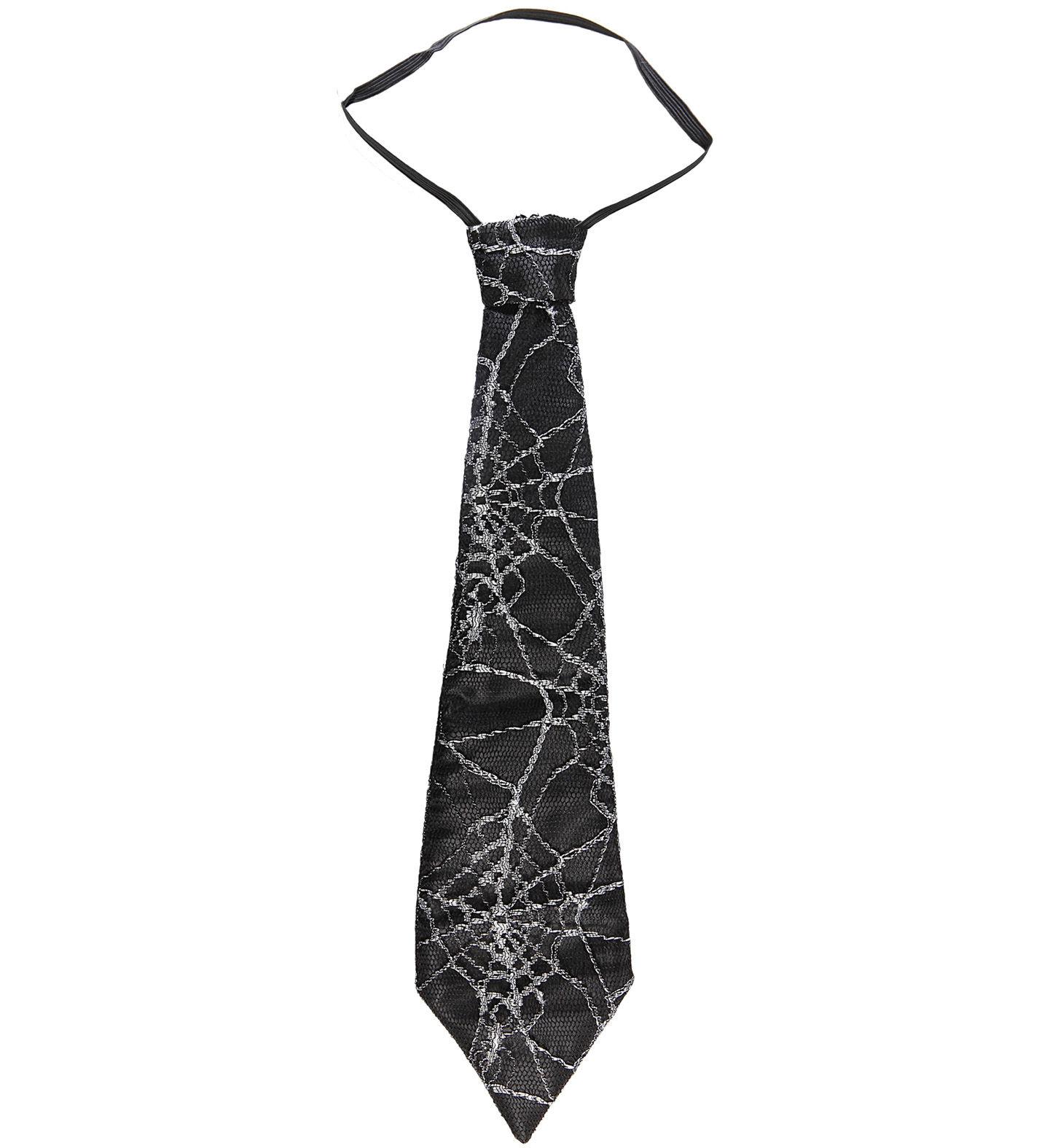 Kravata s pavučinou (45 cm)