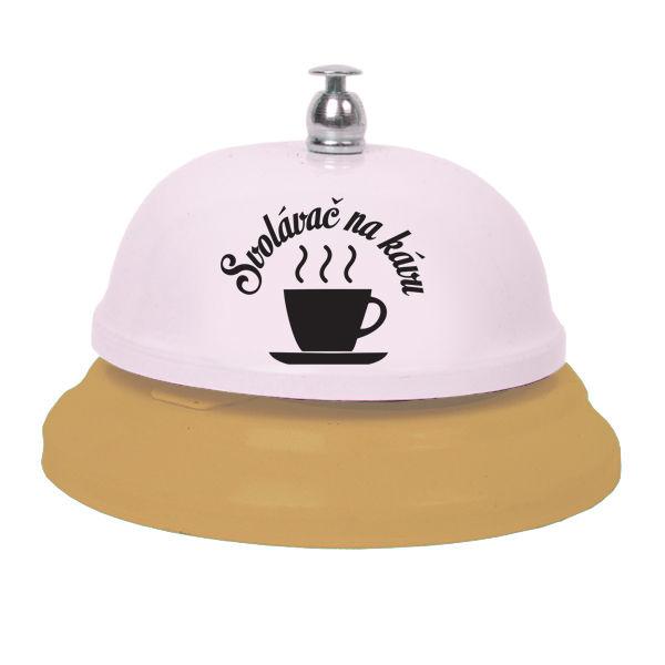 Zvonek svolávač na kávu
